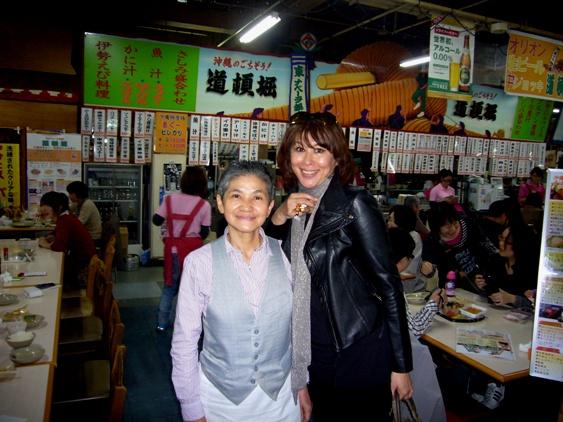 モデル山田美加さんとツーショット