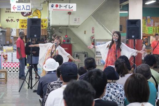 沖縄ポップをメインに歌うG-FA(じーふぁ)のお二人